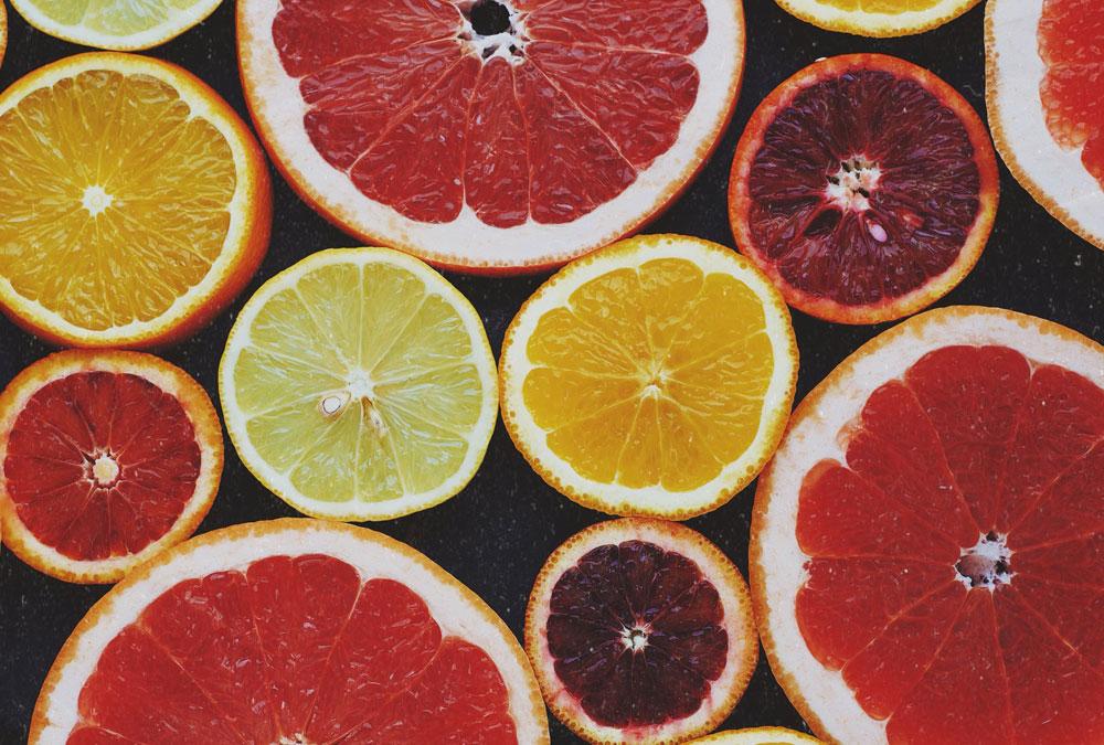 Picture of orange fruits