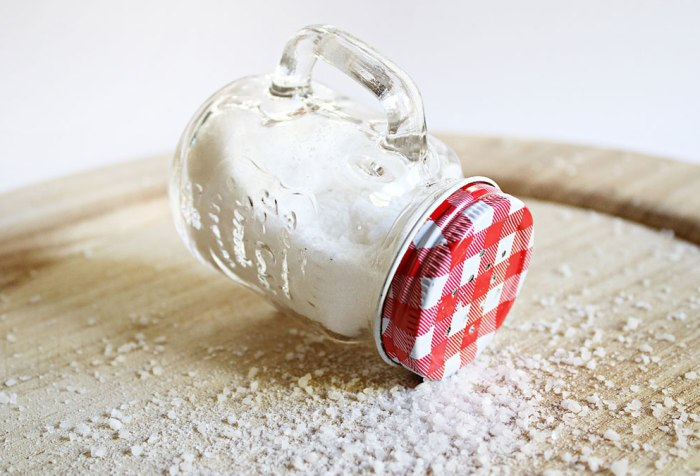 A salt container
